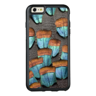 Oscillated Turkey feather pattern OtterBox iPhone 6/6s Plus Case
