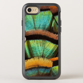 Oscillated Turkey feathers OtterBox Symmetry iPhone 7 Case