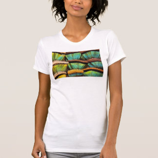 Oscillated Turkey feathers T-Shirt