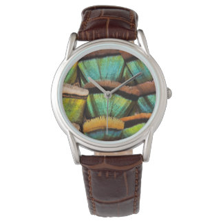 Oscillated Turkey feathers Watch