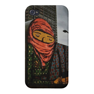 Osgemeos in Downtown Boston iPhone 4/4S Covers