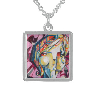 Osgood Custom Sm Sterling Silver Square Necklace
