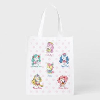 Osharena Ponies Kawaii Shopping Bag