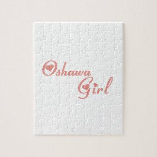 Oshawa Girl Jigsaw Puzzle