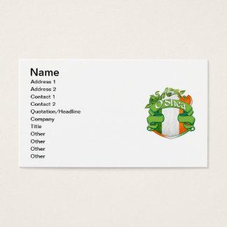 O'Shea Irish Shield Business Card