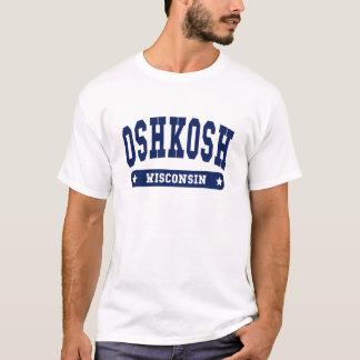 Oshkosh Wisconsin College Style tee shirts