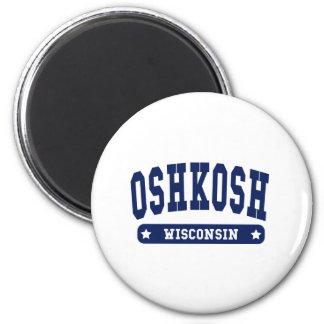 Oshkosh Wisconsin College Style tee shirts Magnet