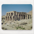 Osiride figures Ramesses II  flanking the walls Mouse Pad
