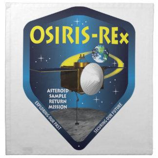 OSIRIS REx Mission Logo Cloth Napkin