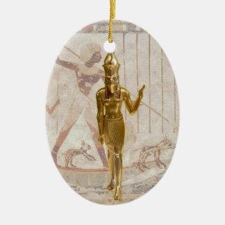 Osiris - Yule - 1NBG Ceramic Oval Ornament