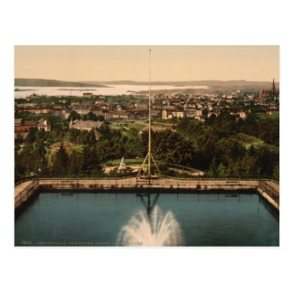 Oslo from St Hanshaugen Park, Norway Postcard