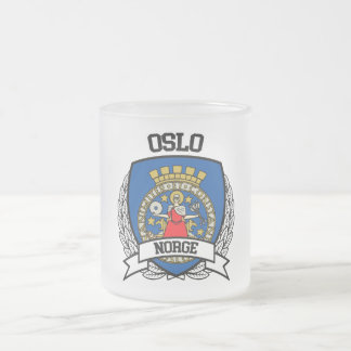 Oslo Frosted Glass Coffee Mug