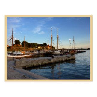 Oslo Harbor Postcard