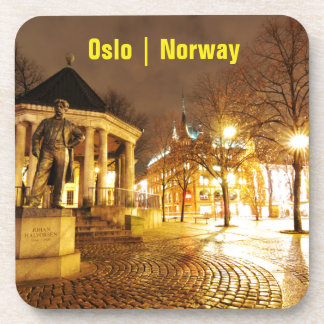 Oslo, Norway at night Coaster