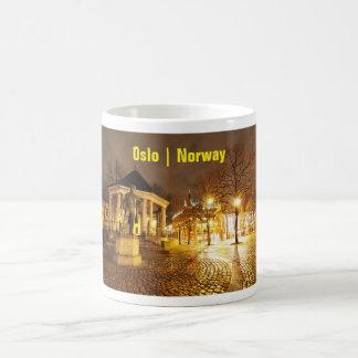 Oslo, Norway at night Coffee Mug