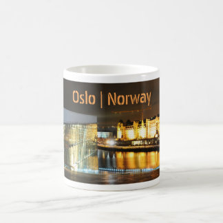 Oslo, Norway at night Coffee Mug
