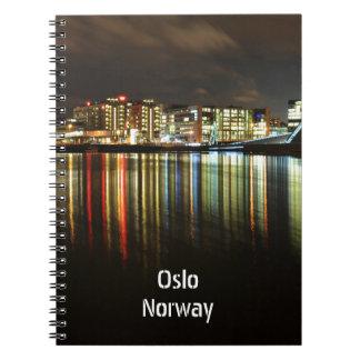 Oslo, Norway at night Notebooks