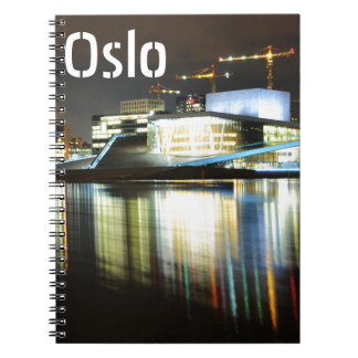 Oslo, Norway at night Notebooks