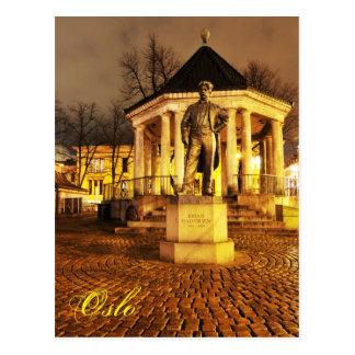 Oslo, Norway at night Postcard