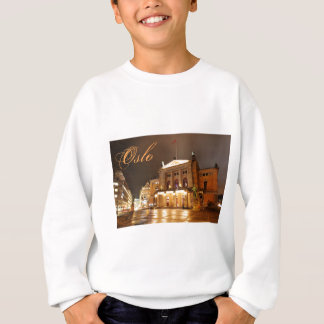 Oslo, Norway at night Sweatshirt
