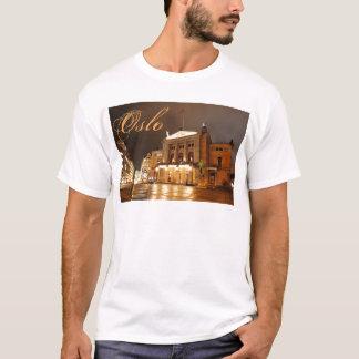 Oslo, Norway at night T-Shirt