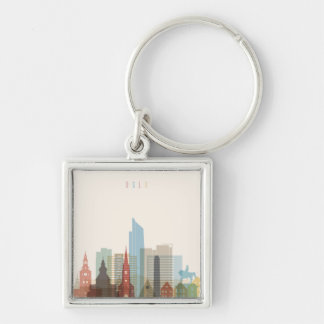 Oslo, Norway | City Skyline Keychain