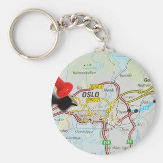 Oslo, Norway Keychain