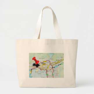 Oslo, Norway Large Tote Bag