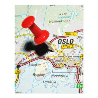 Oslo, Norway Letterhead