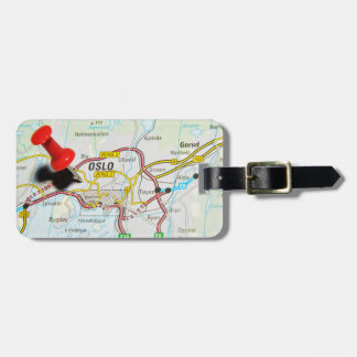 Oslo, Norway Luggage Tag
