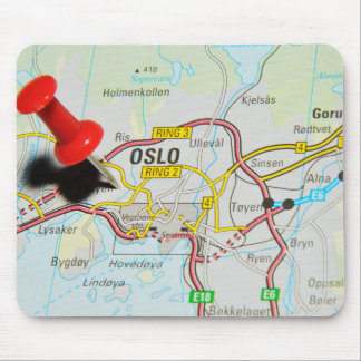 Oslo, Norway Mouse Pad