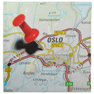 Oslo, Norway Napkin