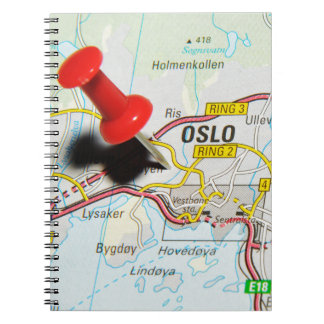 Oslo, Norway Notebook
