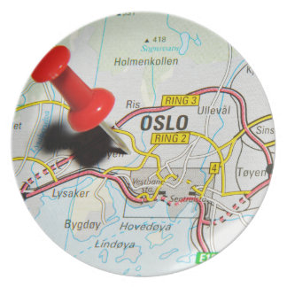 Oslo, Norway Plate