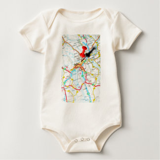Oslo, Norway, Scandinavia Baby Bodysuit