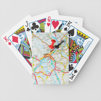 Oslo, Norway, Scandinavia Bicycle Playing Cards