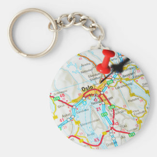 Oslo, Norway, Scandinavia Keychain