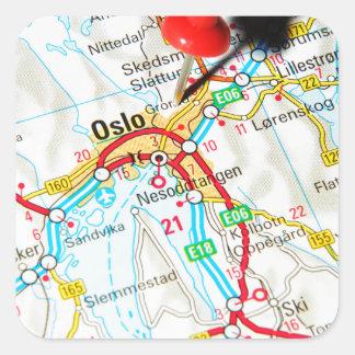 Oslo, Norway, Scandinavia Square Sticker