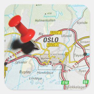 Oslo, Norway Square Sticker