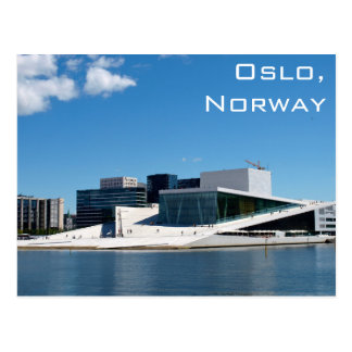 Oslo Opera House In Norway On A Summer Day Postcard