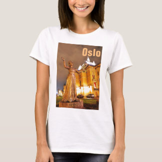 Oslo theatre at night T-Shirt