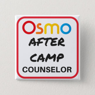 OSMO After Camp Counselor Button