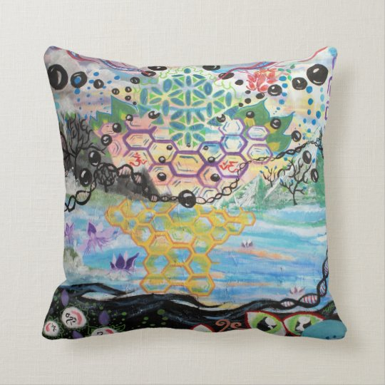 Osmosis-Dream Big Double-sided Pillow