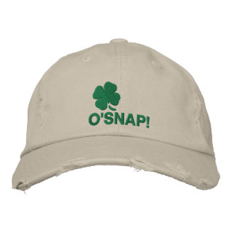 O'Snap! Embroidered Hat