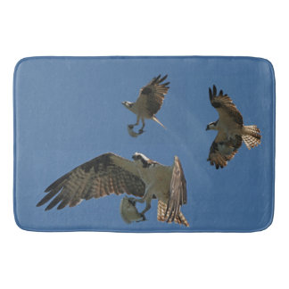 Osprey Birds Fish Wildlife Animals Bath Mat