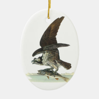 Osprey by Audubon Ceramic Ornament