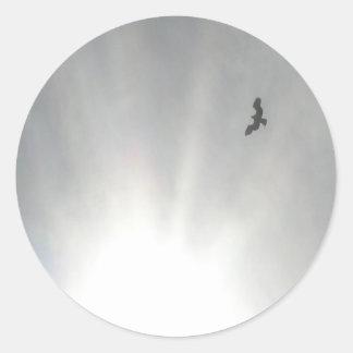 Osprey Classic Round Sticker