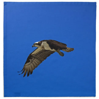Osprey in Flight II Napkin