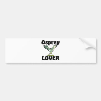 Osprey Lover Bumper Sticker