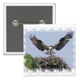 Osprey Nest Pin